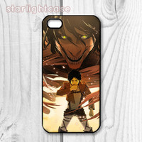 Attack On Titan Phone Case for iPhone 5/5S iPhone 5C iPhone 4/4S