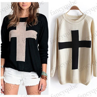 Cross Sweater (More Colors) from Simpelle