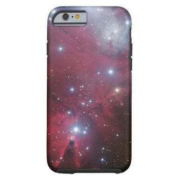 Beautiful Red Nebula Tough iPhone 6 Case
