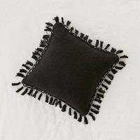 Gemma Fringe Throw Pillow | Urban Outfitters