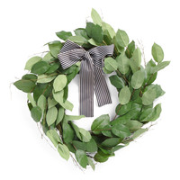 24in Faux Wreath - Artificial Plants - T.J.Maxx