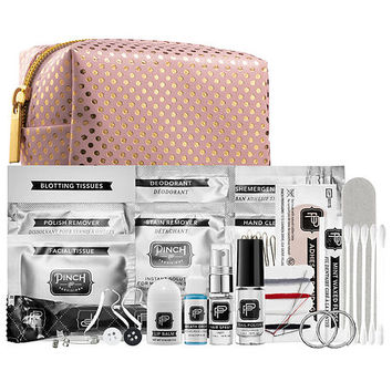 Pinch Provisions Minimergency® Kit for Bridesmaids - Pink/Gold Dot