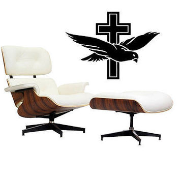 Dove Praying Hands Pray Cross God Jesus Christ Wall Art Decal Stickers tr217