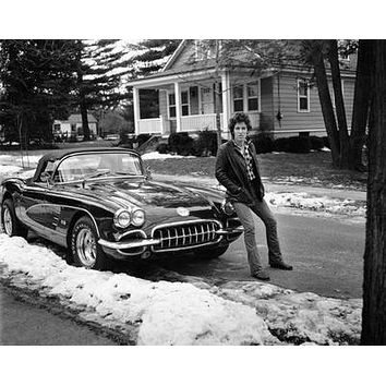 """Bruce Springsteen Poster Black and White Poster 16""""x24"""""""