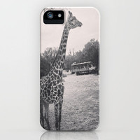 Giraffe iPhone Case by Elyse Notarianni | Society6