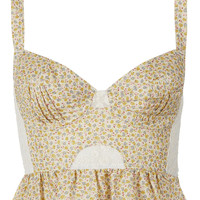 Peplum Frill Corset - New In This Week - New In - Topshop USA
