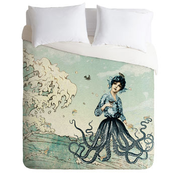 Belle13 Sea Fairy Duvet Cover