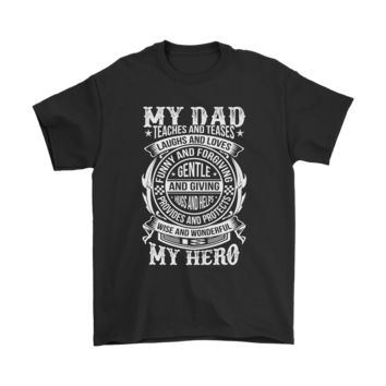 KUYOU My Dad Is My Hero Teaches And Teases Laugh And Love Shirts
