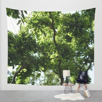 Up the Tree Wall Tapestry by UMe Images