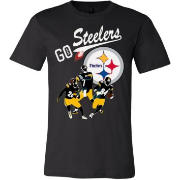 """Go Steelers"" Pittsburgh Steelers T-Shirt (13 Colors)"