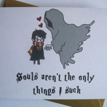 Funny HARRY POTTER VALENTINES Card, Rude Husband, Dirty Card For Him,  Boyfriend,