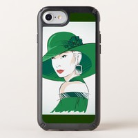 Attractive Female Speck iPhone Case