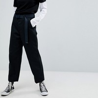 Carhartt WIP Relaxed Chinos With Wide Cropped Leg at asos.com