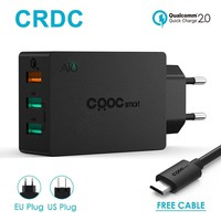 2.0 42W Usb Charger for Phone Portable Travel Wall Charger