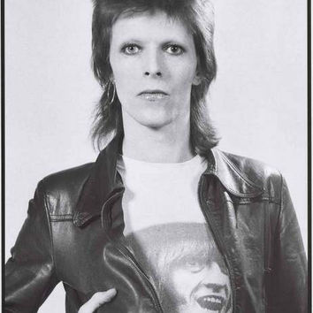 David Bowie 1973 Portrait Poster 24x33