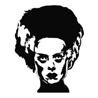Bride of Frankenstein (b) Monster Die Cut Vinyl Decal Sticker