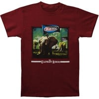 Clutch Men's  The Elephant Riders T-shirt Maroon