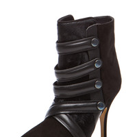 Isabel Marant | Tacy Pony Booties in Black www.FORWARDbyelysewalker.com