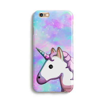 Unicorn emoji space rainbow iPhone case - Cute iPhone case 1P004B