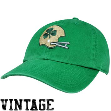Notre Dame Fighting Irish '47 Brand Classic Franchise III Fitted Hat – Green