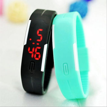 Touch Screen Fashion Stopwatch Digital Mens Watches - Available free - Pay only $6.99 Shipping!