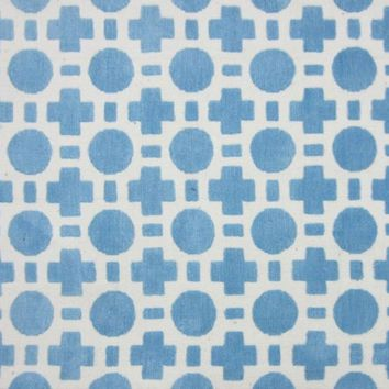 Loloi Piper Blue Checkers Area Rug