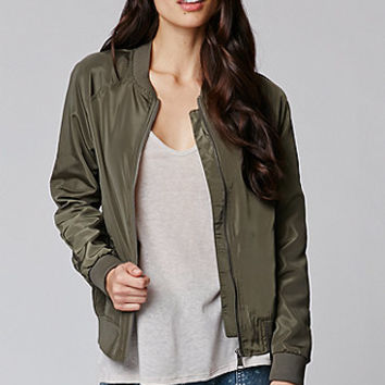 LA Hearts Windbreaker Bomber Jacket at PacSun.com