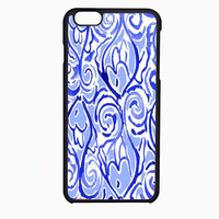 lily pulitzer blue fish FOR IPHONE 6 CASE NEWEST **