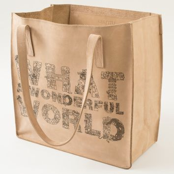 What A Wonderful World UBUNTU collection Tote