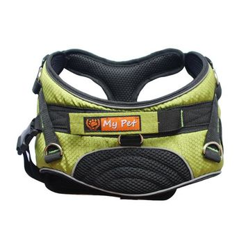 Dog Summer Breathable Professional Training Reflective Harness  Padded Soft for Comfort