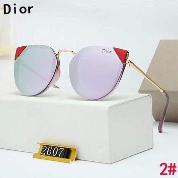 Dior Popular Women Fashion Leisure Shades Eyeglasses Glasses Sunglasses 2#