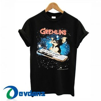 Gremlins Gizmo Keyboard T Shirt Women And Men Size S To 3XL