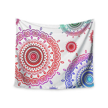 "Monika Strigel ""Rainbow Infinity"" Wall Tapestry"