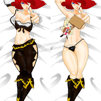 New Miss Fortune - League of Legends Anime Dakimakura Japanese Pillow Cover Custom Designer JinIwashita ADC234