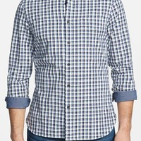 Men's Wallin & Bros. 'Sig' Trim Fit Plaid Sport Shirt