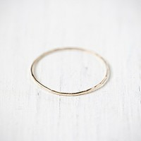 Catbird Womens Threadbare Stacking Ring
