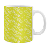 Allyson Johnson Neon Feathers Coffee Mug