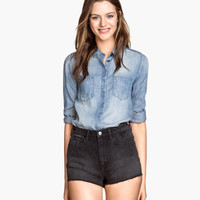 H&M Denim Shorts High waist $19.95