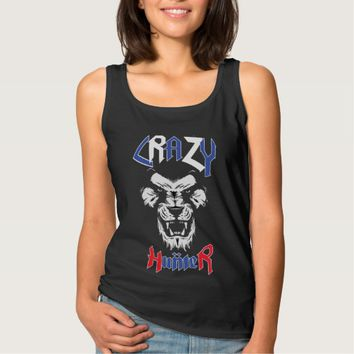 Funny T-shirt - Crazy Hunter