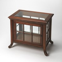 Chopin Vintage Oak Side Chair Curio by Butler Specialty Company 339001