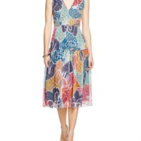 DIANE von FURSTENBERG Vanya Floral Dot Silk Dress - 100% Bloomingdale's Exclusive | Bloomingdales's