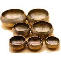 Copper Hammered Singing Bowls