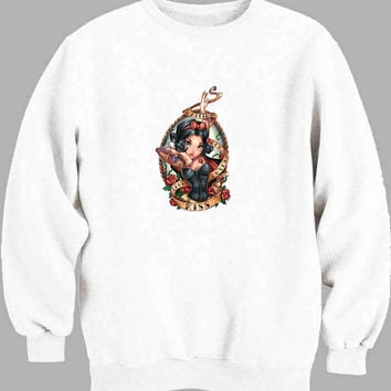 Tattooed Disney Princess Sweater for Mens Sweater and Womens Sweater *