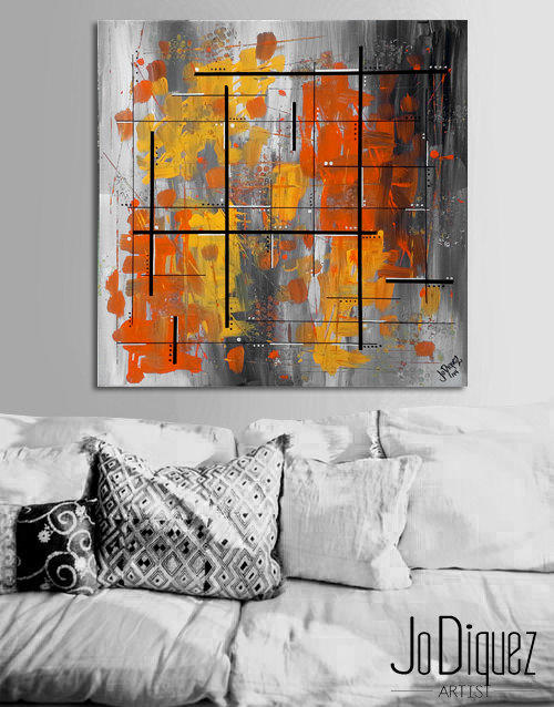 Made To Order Original Abstract From Jo Diquez My Art