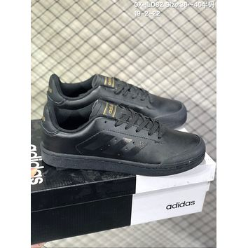 HCXX A570 Adidas Court 70s Fashion Baitao Personality Campus Board Shoes Black Gold