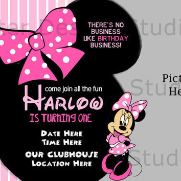 Shop minnie mouse birthday invitations on wanelo minnie mouse birthday invitation printable filmwisefo