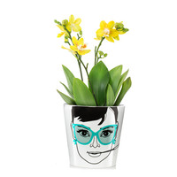 Flower Pot Large - Elegant Audrey