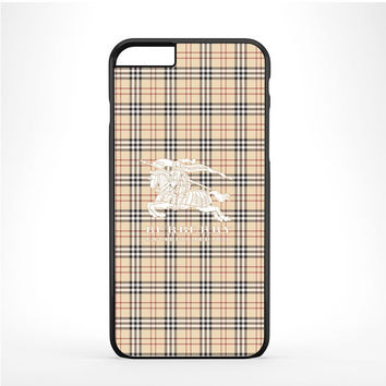 Burberry White Logo Iphone 6 Plus | 6s Plus Case