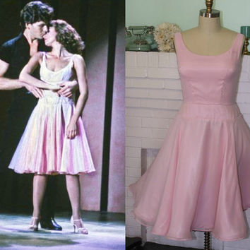 Baby's Dirty Dancing Dress- Light Pink Chiffon-Custom Made To Order-