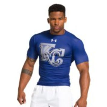 Under Armour Mens Kansas City Royals UA Compression T-Shirt